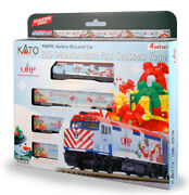 Kato 106-2016-dcc N Operation Pole 2016 Christmas Train With Dcc Set Of 5