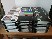8x Lot Of Random Pre-recorded Vhs Tapes Sold As Used Home Recordable Blanks 9