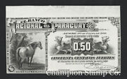Paraguay Proof Banknote Catalog S144