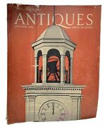 The Magazine Antiques January 1948 Edition Vintage Collection View Photos