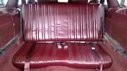 91-96 Buick Roadmaster Estate Wagon 3rd Row Seat Ruby Red 79i