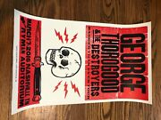 George Thorogood And The Destroyers 2016 Hatch Show Print