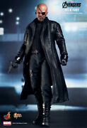 Hot Toys 1/6 Marvel The Avengers Mms169 Nick Fury Movie Action Figure
