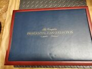 Franklin Mint The Presidential Coin Collection Display Box - Case Only No Coins