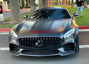 Front Grille Grill Body Kit Black For Mercedes Amg Gt Gts 2015-2017 Special Off