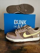 Undefeated Nike Dunk Low Canteen/lemon Frost/palomino Dh3061 200 Us Mens Size 12