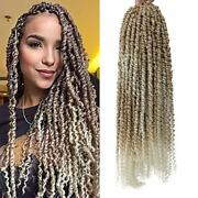 6 Packs Pre-twisted Passion Twist Crochet Hair 22 Assorted Sizes Colors