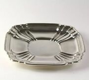 Gorham Silver Serving Tray 9.25 - Sterling 925 Fluted Collectible Polished