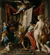 High Quality Oil Painting Handpainted On Canvas Apelles Paints Campaspe