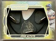 Topps Diamond Icons 1/1 Jose Altuve Cleat W/ Dirt Game-used Preeminent Relic