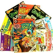 Dc Special 8 Comic Book Lot 1970's Issues 7 14 17 19 20 23 24 29 Justice Society