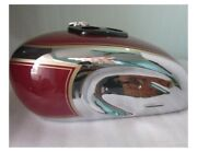 Triumph T90 5t Speed Twin Chrome And Painted Gas Fuel Petrol Tank 1948