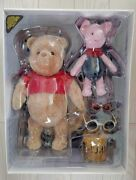 Hot Toys Disney Christopher Robin Winnie The Pooh And Piglet Collectible Figures