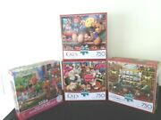 4 Cat Puzzle Lot550-750 Pcwysockisewing Kittenstoy Cabinetpaws Gone Wild