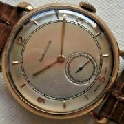 1940s Vintage Watch Jaeger Lecoultre 38mm Swiss Made Working Gold Cal.p469/c