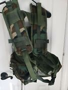 Us Army Reyes Industries Enhanced Tactical Load Bearing Vest Camouflage Jungle