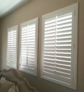 Painted Shutters Custom Size Real Wood 12.99/square Foot