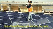 Solar Panel Rinse.com Website For Fast Growing Business Opportunity