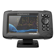 Lowrance Hook Reveal 5 Combo W/splitshot Transom Mount And C-map Contour+ Card