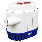 Automated Bilge Pump Rule Mate Boat Water Pumps Fully Automatic 12v 2000 Gph