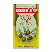 Italian Pure Olive Oil In Tin 1 Gallon - 3,785 Liters Packs Of 6