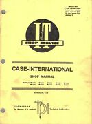 Case/ih 1190 To 1594 See Picture 2 For Models Tractors I+t Shop Manual C-36