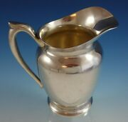 Antique/vintage C1940 Classic Fisher Sterling Silver Water Pitcher - 8 1/2