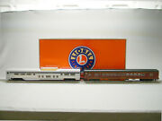 Lionel Norfolk Southern Excursion Private Car 2 Pack A O Gauge Stock 1927210 New