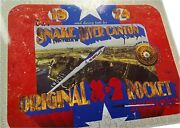 Metal And Paint Shavings Evel Knievel's Original X-2 Rocket Skycycle Snake River