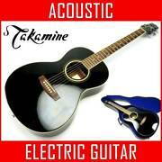 Energized Sound Out Ok Takamine Sp-1bk With Case Pickup Addition Eco Acoustic