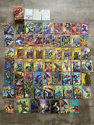 Overpower Card Game Lot By Marvel