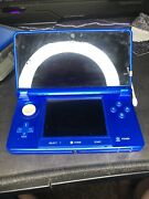 Nintendo 3ds Midnight Purple With 17 Games Total 3ds/ds Games. Beautiful