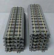 Mth 40-1001 Realtrax 10 Straight Track With Solid Rails 11 Ex