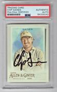 2020 Topps Allen And Ginter Chip Gaines Hgtv Signed Auto Trading Card 155 Psa/dna
