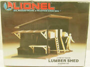 Lionel 6-12705 O Scale Lumber Shed Building Kit