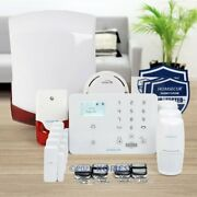 Homsecur Wirelessandwired Wcdma/gsm Home Security Alarm System With Smoke Detector