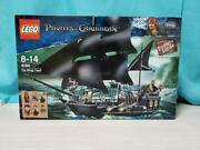 Lego Pirates Of The Caribbean The Black Pearl 4184 In 2011 Japan Used With Box