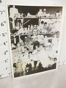 Toy Photo 1931 Mrs A.w. Wood Wa Doll Collection Kewpie Bisque Composition Cello