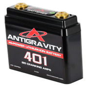 Antigravity Batteries 4 Cell Lithium Battery Ag-401 Small Case Motorcycle Harley