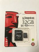 Micro Sdhc Card 32gb With Micro Sd Adapter