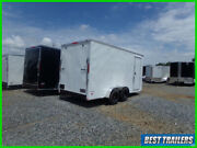2021 Freedom 7 X 16 Enclosed Extra Height New Cargo Motorcycle Trailer 7 Tall