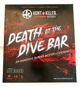 Death At The Dive Bar Hunt A Killer Mystery Game Complete
