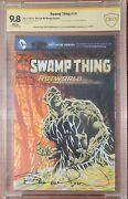Swamp Thing 9 Tribute By Rick And Morty Artist David Roman Signed Bernie Wrightson