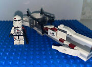 Lego Clone Trooper And Speed Bike Lot From 75037 Star Wars Battle On Saleucami
