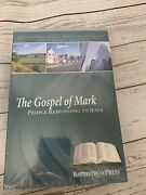 Lot Of 5 Large Print Baptist Way Adult Bible Study Guide Gospel Of Mark Book New