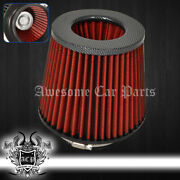 For Mitsubishi 4 Performance Cars Automotive Truck Dry Air Filter Intake Carbon