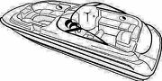 Carver Covers 95120p Boat Cover 20 Deck Boat Poly Made By 95120d