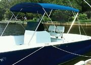 Carver Covers 603a05 3 Bow Bimini Top 73-78in Cap Navy Canvas Made By Carver ...
