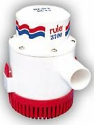 Boating Accessories New Rule 3700 Pump 32v Old 3500 Rul 15a