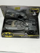 Batman Batmobile And Batboat 2-in-1 Transforming Vehicle For 4in Action Figures Dc